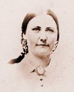 Arvilla Currier Clark, circa 1860
