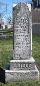 JamesSnyder grave