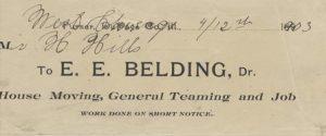 business letterhead belding_SOP