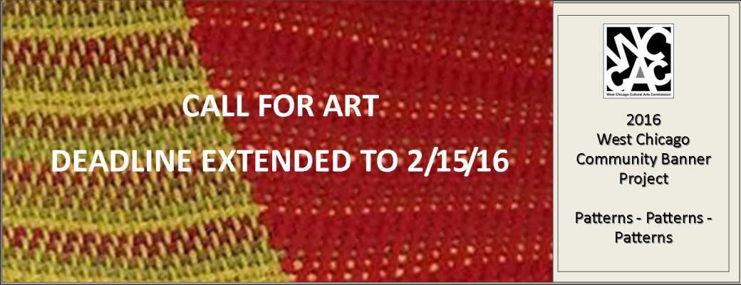 Call for Art Deadline Extended