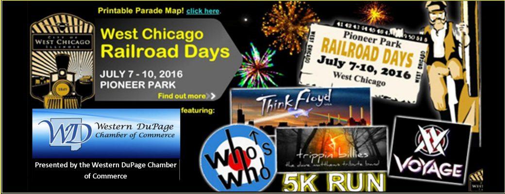 West Chicago Railroad Days Returns
