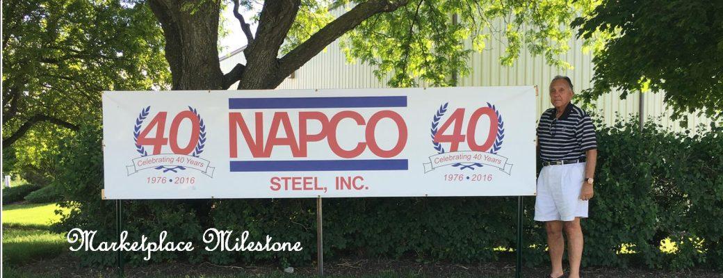 City Celebrates NAPCO STEEL, INC. on 40th Anniversary