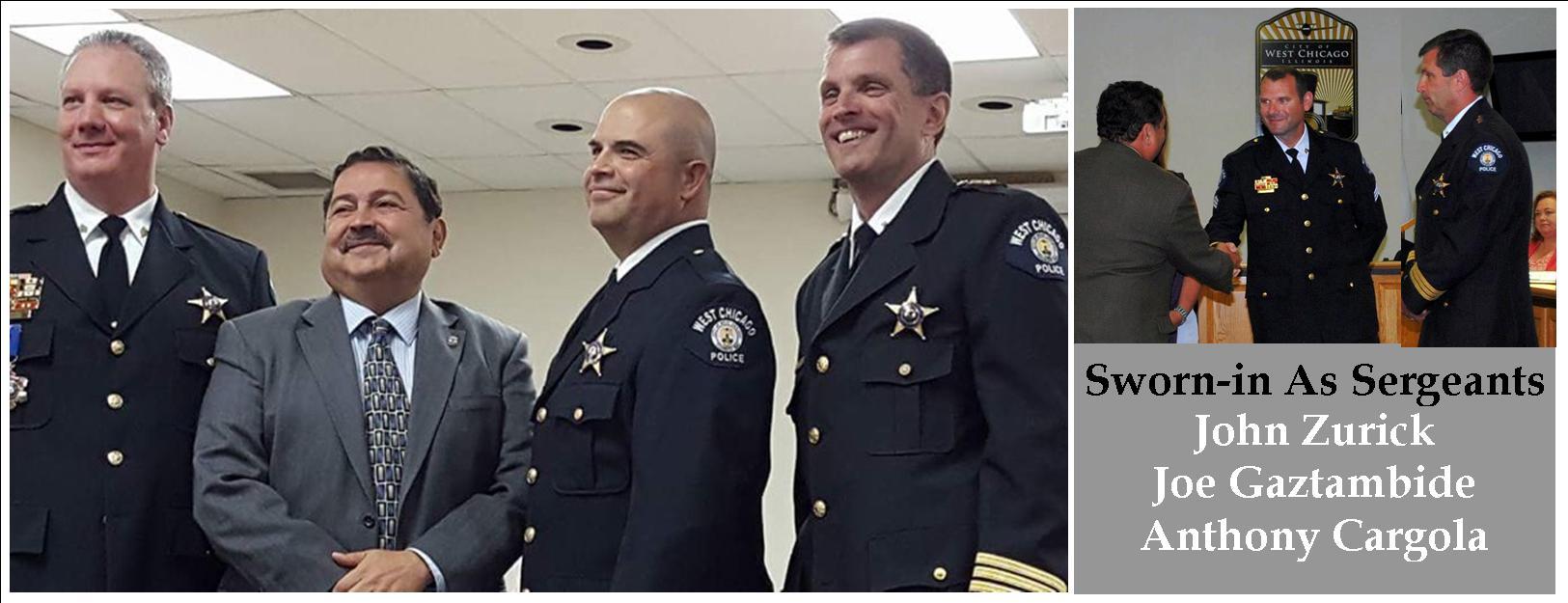New Sergeants