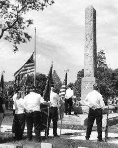 Memorial Day at Oakwood Cemetery