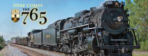"Photo of vintage locomotive ""The 765"""