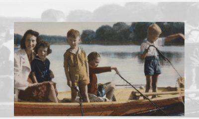 Vintage photo of family Zelda DeTray Dunbar