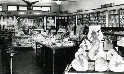 Vintage photo of Bond Drug Store