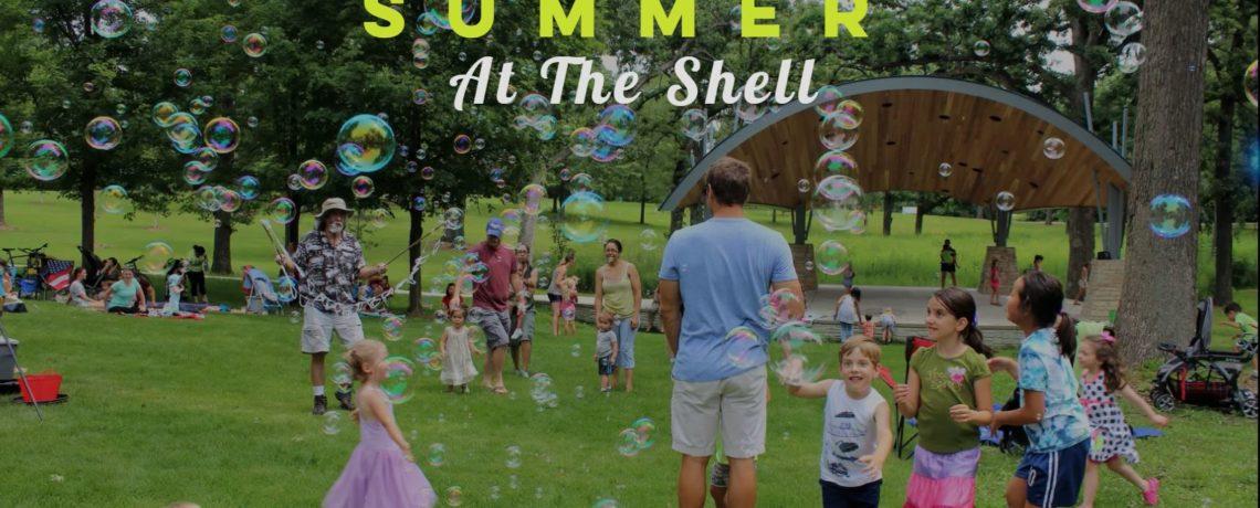 Summer at the Shell