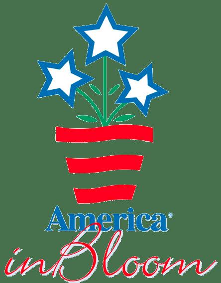 America in Bloom logo transparent