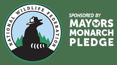 National Wildlife Foundation Mayors Monarch Pledge logo